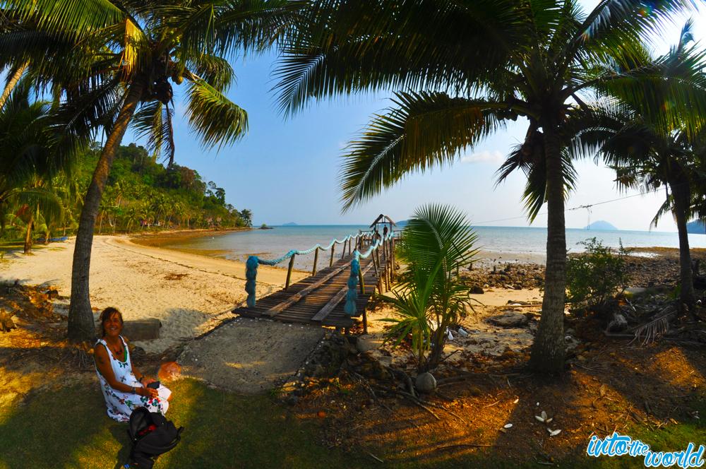 long beach koh chang losso thailand strand