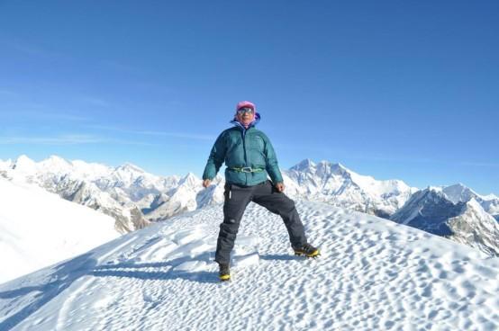 nepal mera peak gipfel trekking