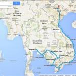 Mit dem Motorrad durch Südostasien