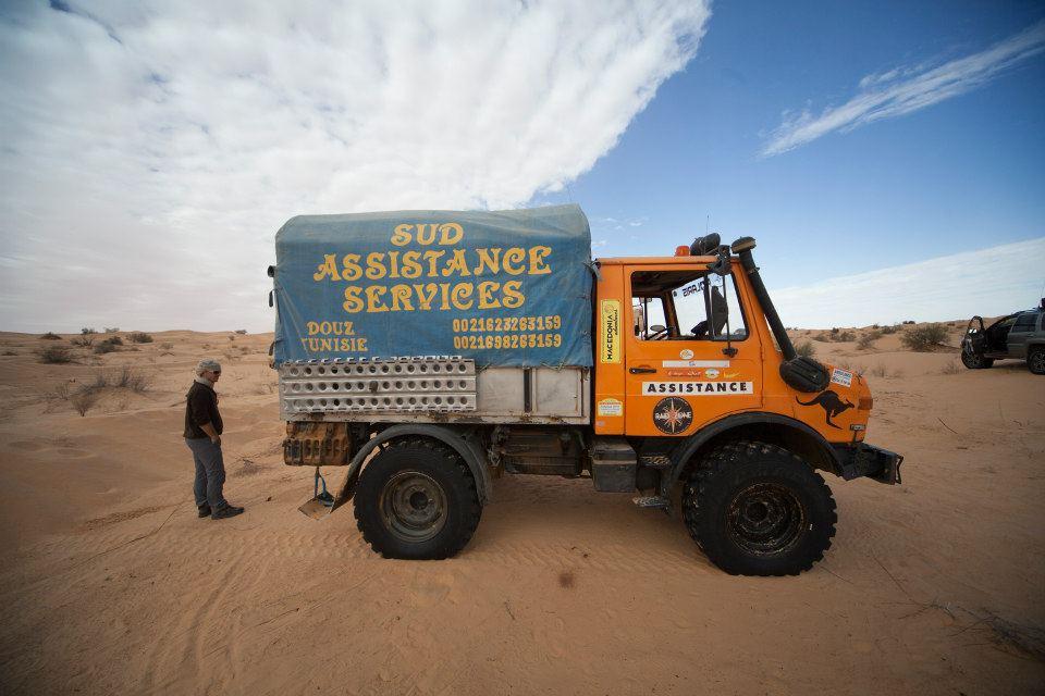 Mit dem Jeep durch die Sahara