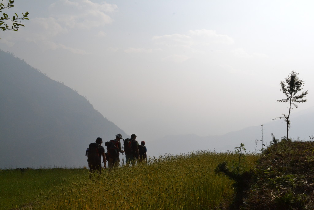 mera peak trekking reise