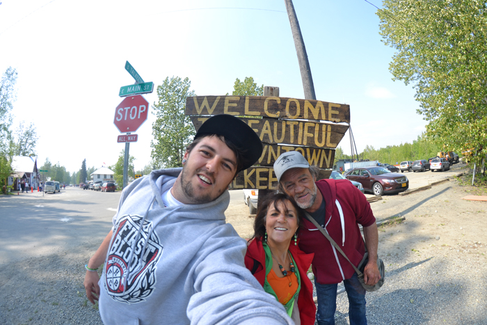 Roadtrip quer durch Alaska familie losso
