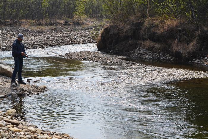 alaska roadtrip fischen
