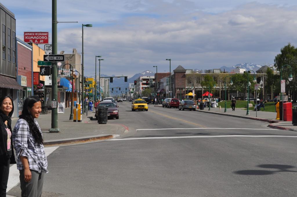 alaska straße roadtrip usa