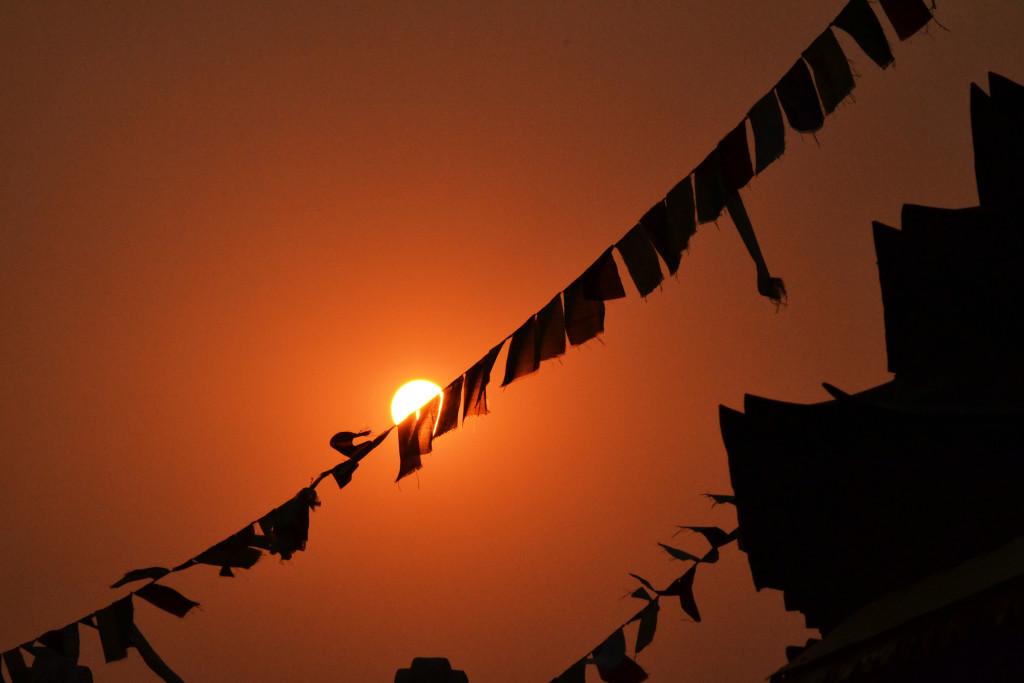 Sonnenuntergänge in Asien