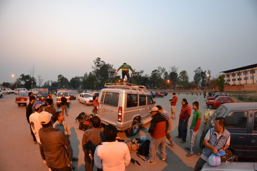 nepal reise trekking trip