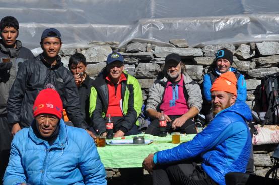 mera peak team nepal trekking