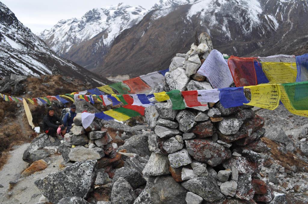 nepal trekking mera peak losso