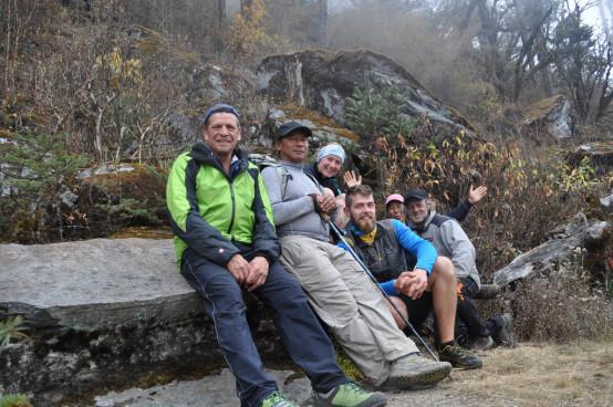 mera peak trekking, nepal, sherpa
