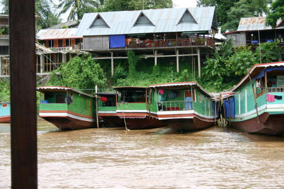 Laos Boot mekong tour reise