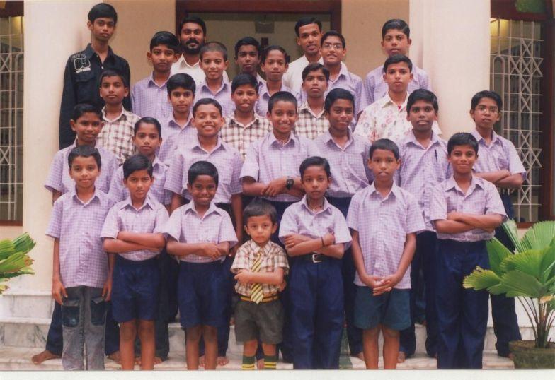 Indien Waisenheim in Kerala