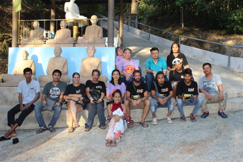 Sterilisation Koh Chang - ein Teil der Freiwilligen