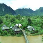Und tschüss gestresste Welt, mit dem Boot durch Laos!
