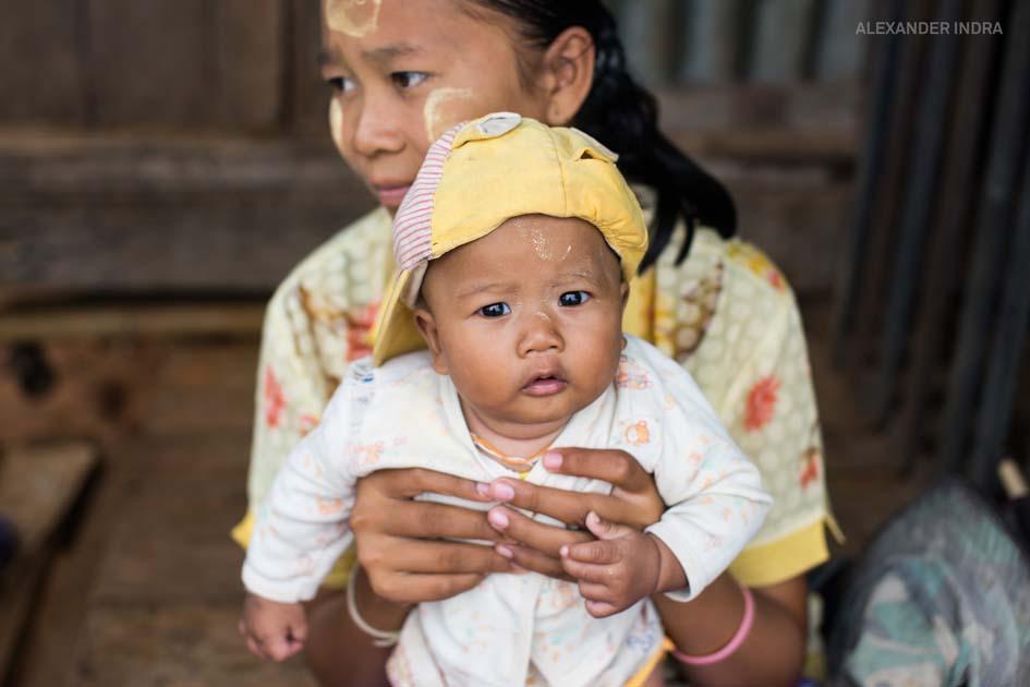 Burmesisches Flüchtlingsheim
