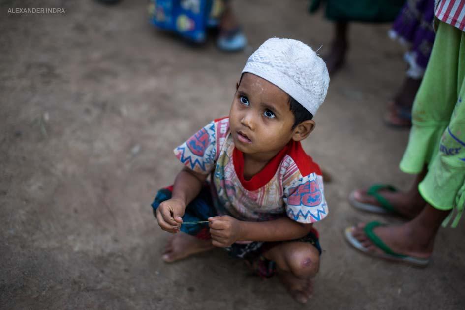 burma kinder Burmesisches Flüchtlingsheim