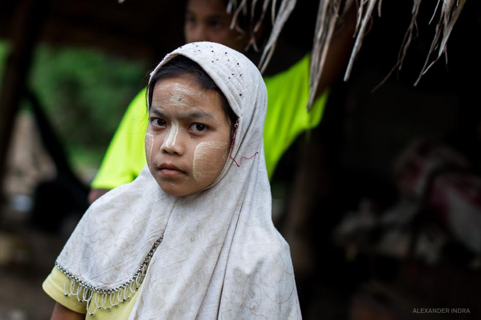 Burmesisches Flüchtlingsheim kinder thailand