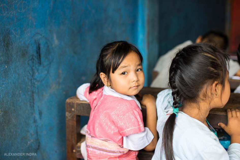 Burmesisches Flüchtlingsheim thailand norden