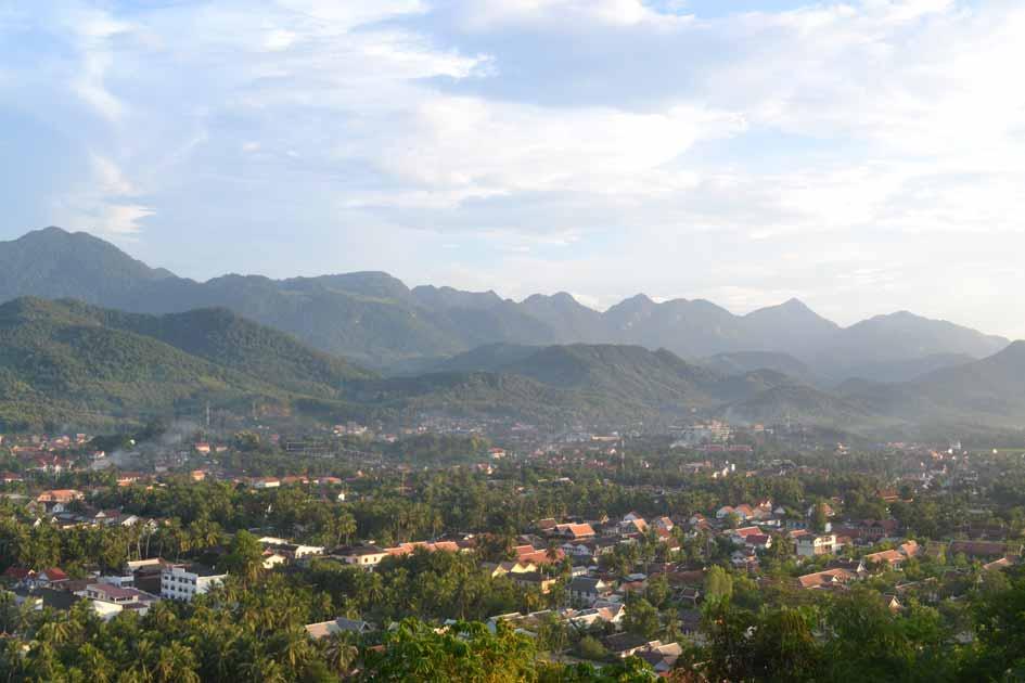 luang-prabang-aussicht guide laos