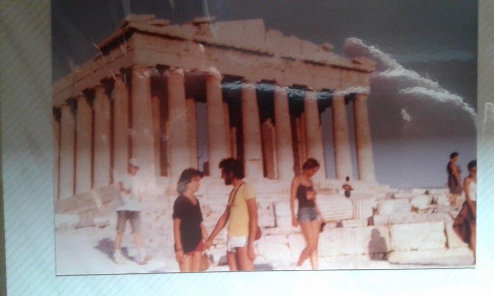 Griechenland Akropolis 1976