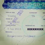 Endlich: 6 Monate Touristen Visum für Thailand