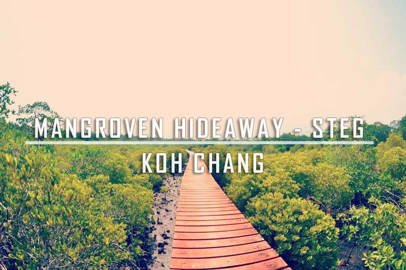 Mangroven Hideaway – Steg in Koh Chang