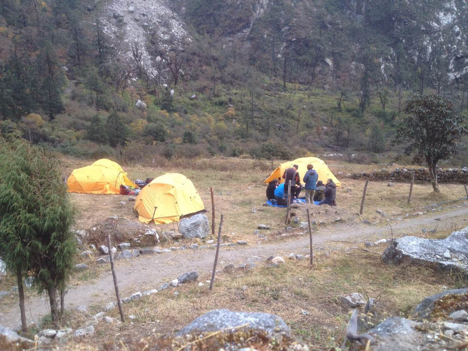 Nepal erdbeben langtang trekk