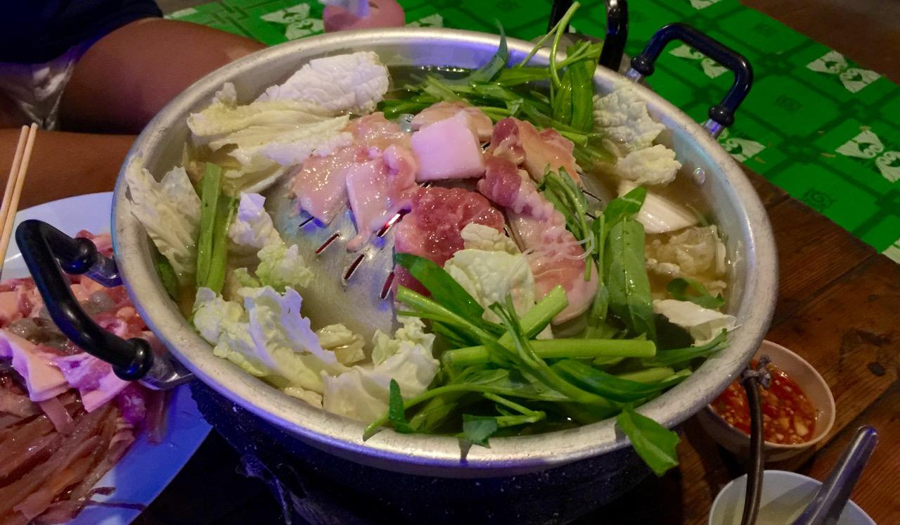 Thai BBQ kochen