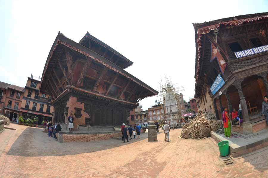 Bhaktapur-platz-tempel-nepal