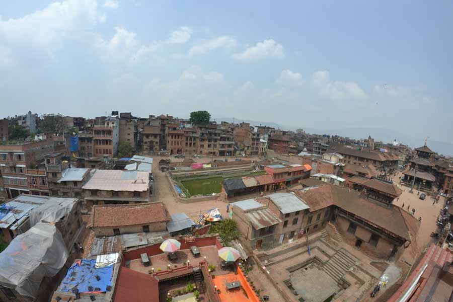 Bhaktapur-stadt-erdbeben