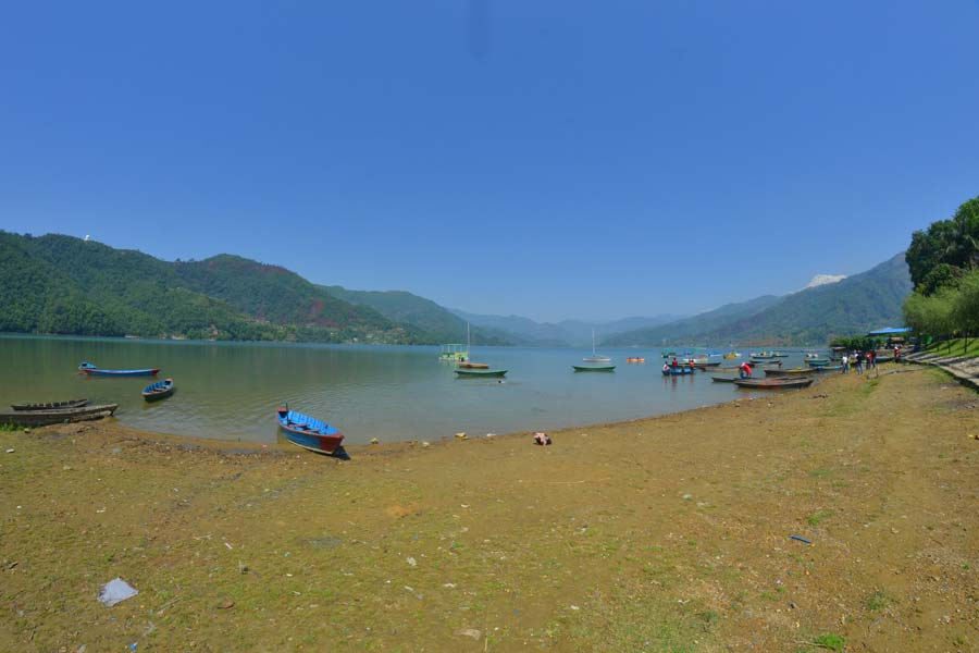 Pokhara-Der-See-Phewa nepal reisebericht