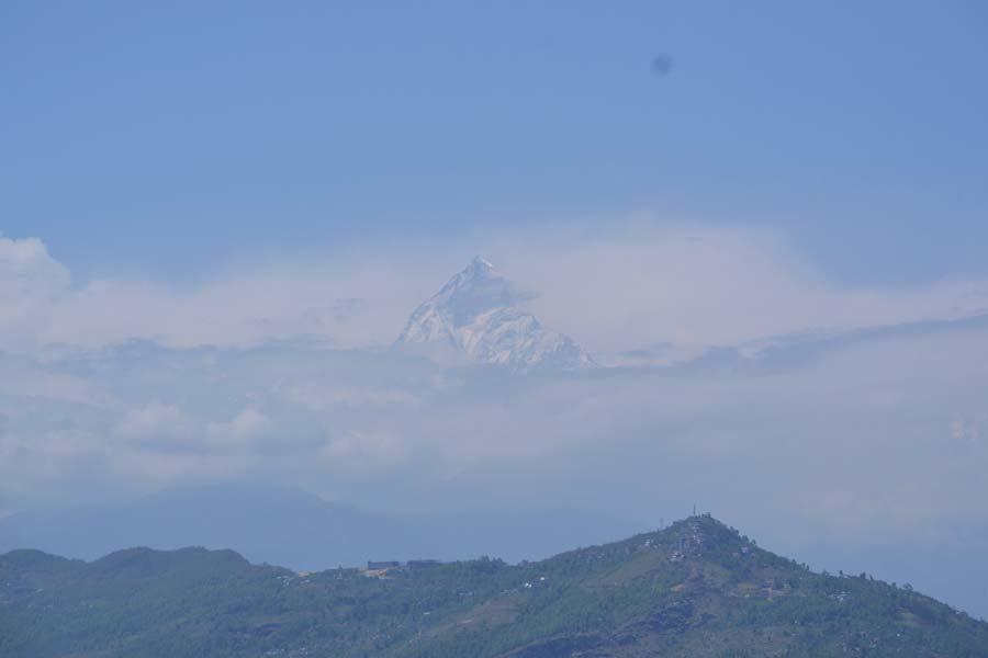 Sarangkot-pokhara-ausblick-berg nepal