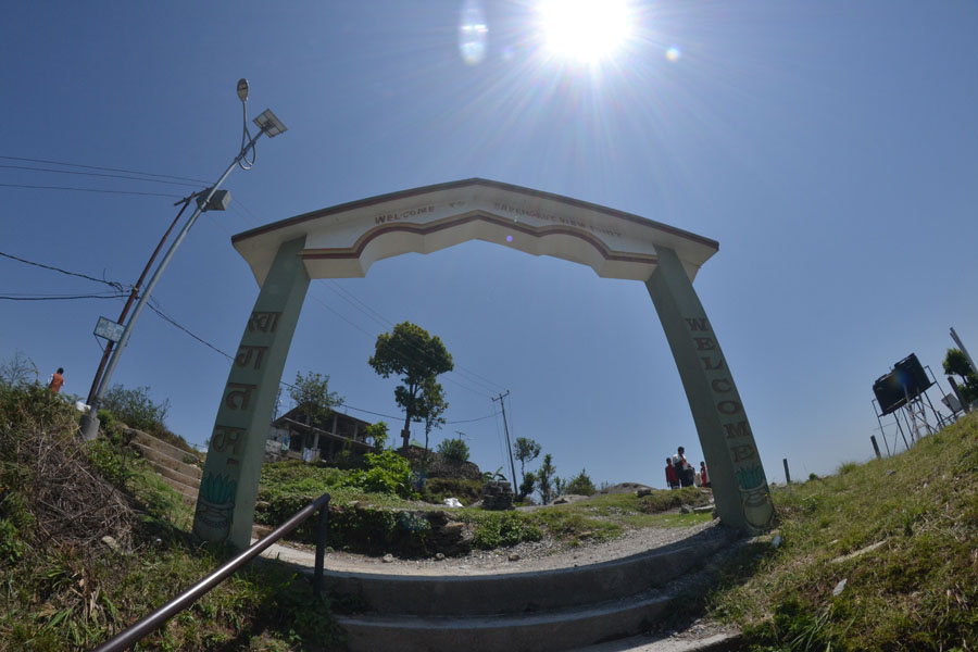 Sarangkot-pokhara nepal berg reisebericht