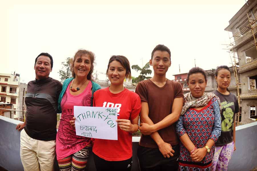 Wir sind gekommen um zu helfen – Nepal 2016