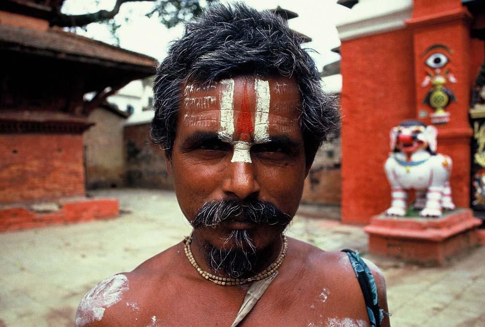 mönch-guru-nepal-alte-fotos