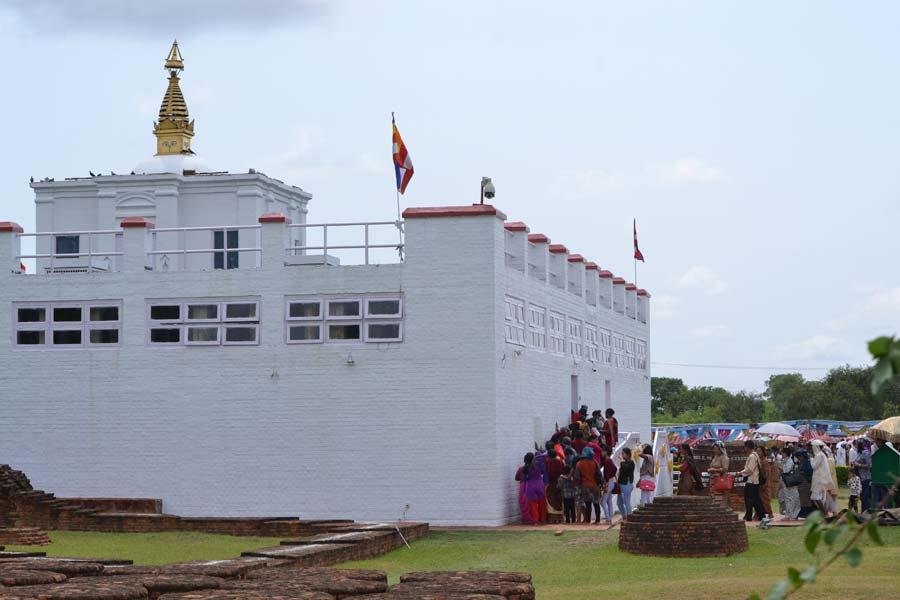 Geburtsort-des-Buddha-lumbini nepal