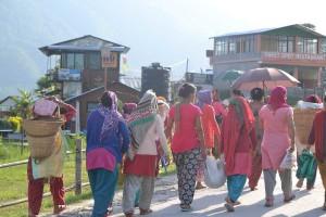 nepal-menschen-gruppen