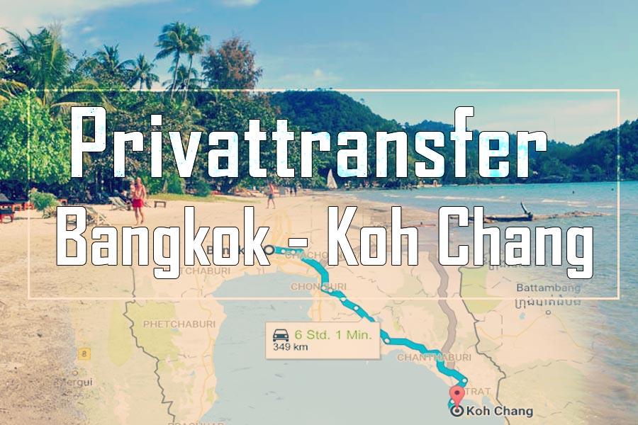 Privattransfer von Bangkok auf die Insel Koh Chang