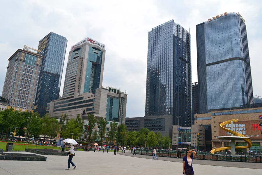 chengdu-china-stadt