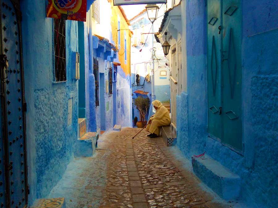 Chefchaouen-roadtrip-auto-marokko