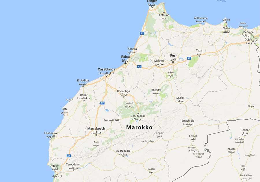 marokko-straßen-karte-autobahn-afrika