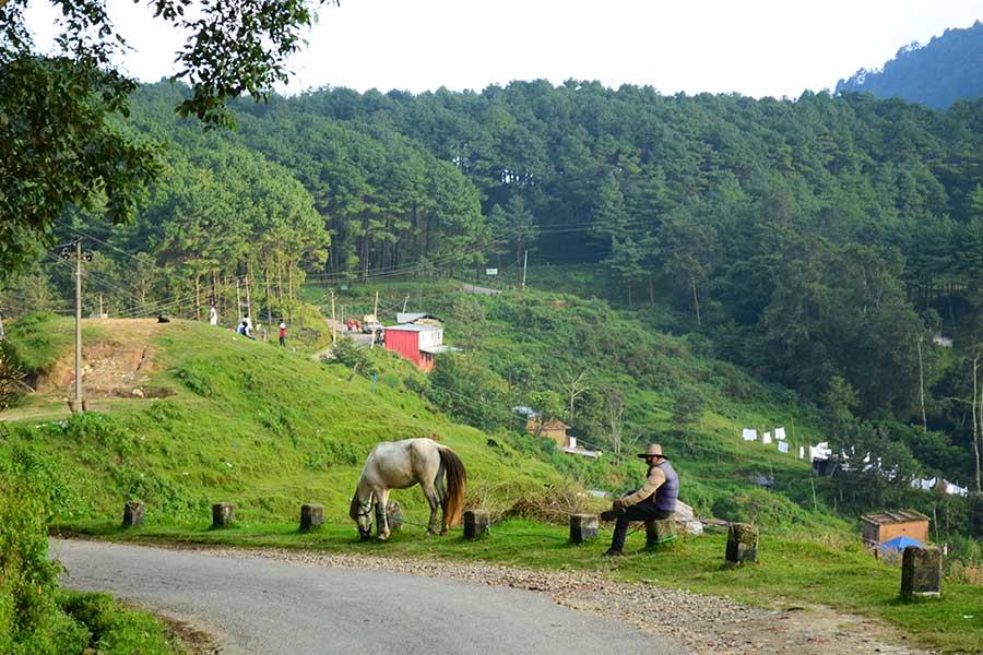 Nagarkot-nepal-anreise-berg-kathmandu-landschaft