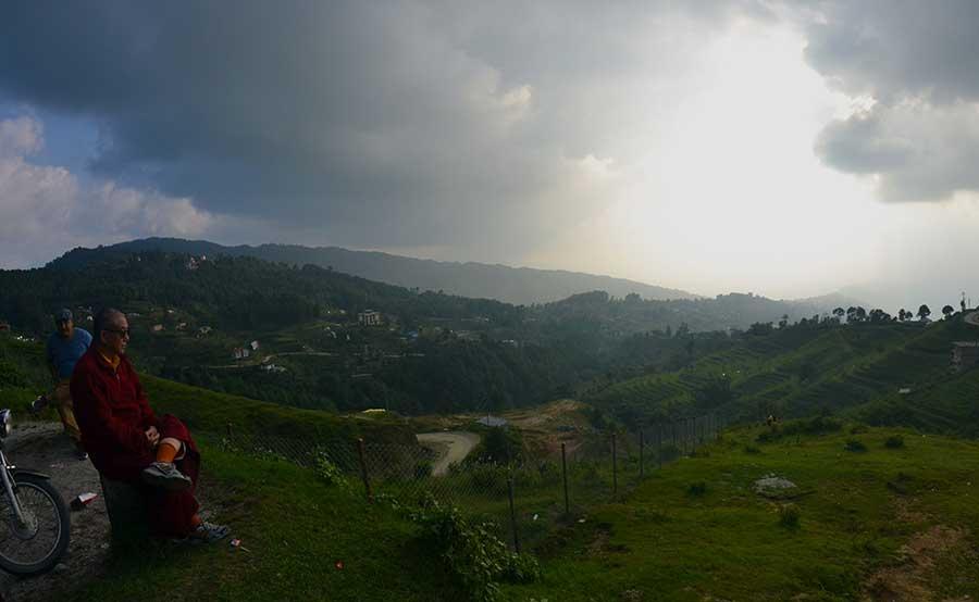 Nagarkot-nepal-berg-mönch-anreise-kathmandu-tal-himalaya