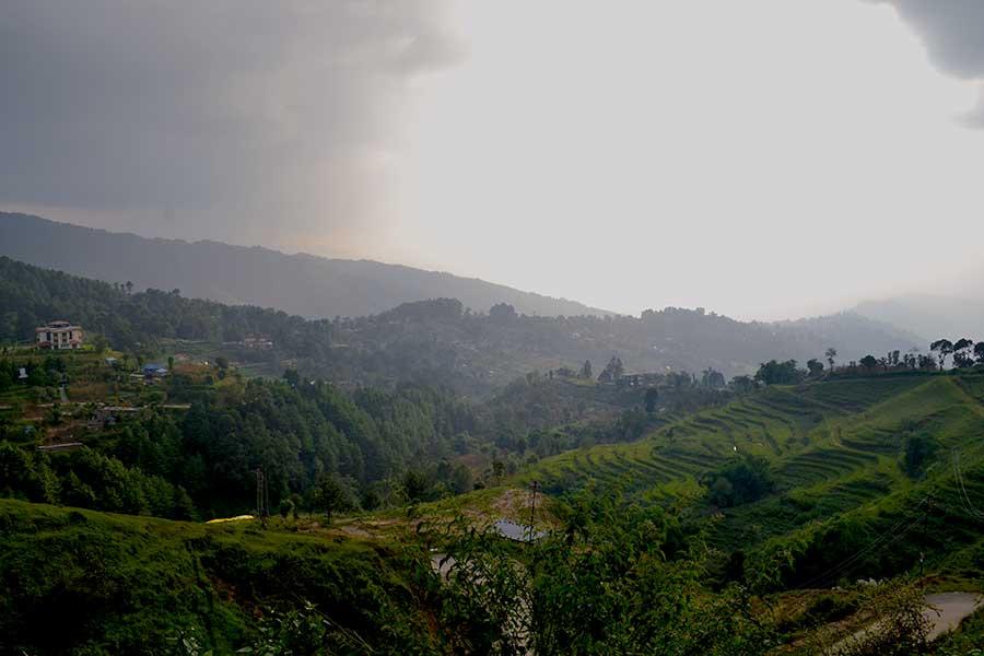 nagarkot-kathmandu-nepal-ausblick-dorf