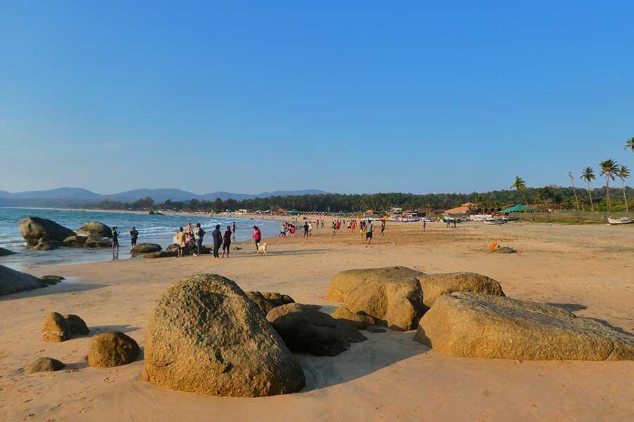 agonda-beach-strand-indien-goa-süden-sauber